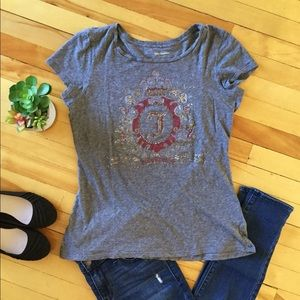 JUICY COUTURE Logo Short Sleeve Embellished Tee XL